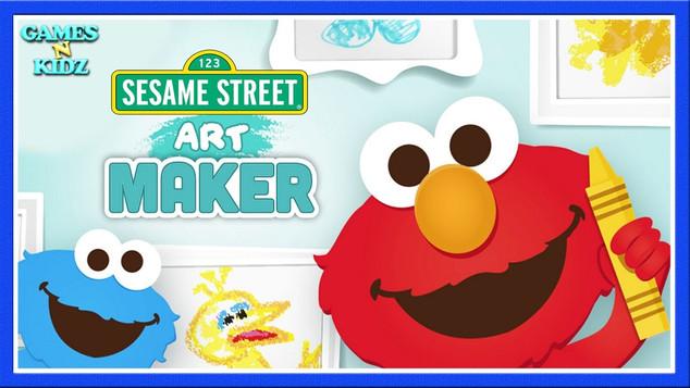 Sesame St Art Maker