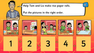 Rice paper roll time: analogue and digital