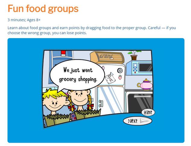 Fun Food Groups