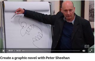 Create a graphic novel with Peter Sheehan