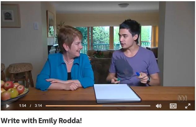 Write with Emily Rodda!