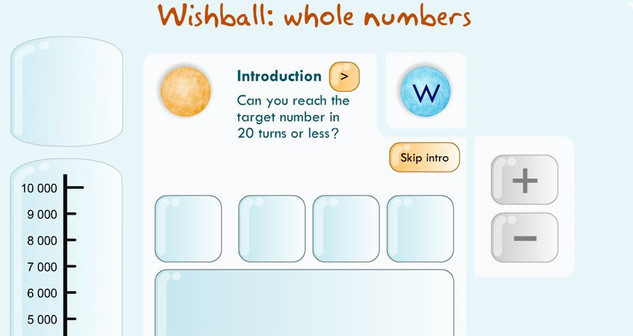 Wishball Whole Numbers