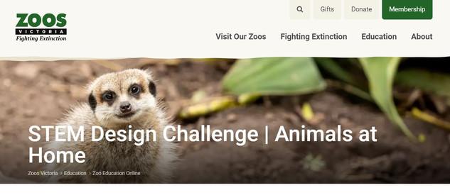 Zoo Victoria STEM Design Challenge