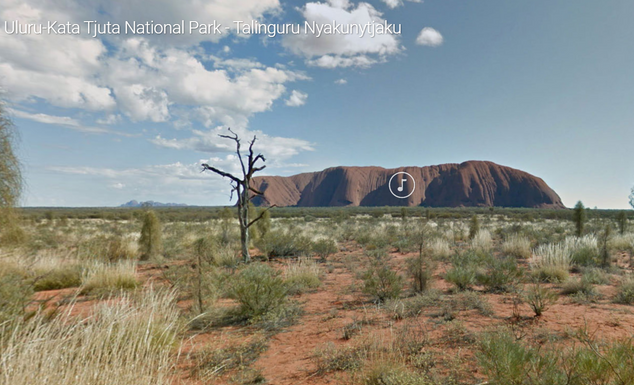 Uluru-Kata Tjuta National Park - Talinguru Nyakunytjaku
