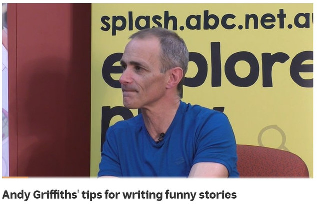 Andy Griffiths' tips for writing funny stories