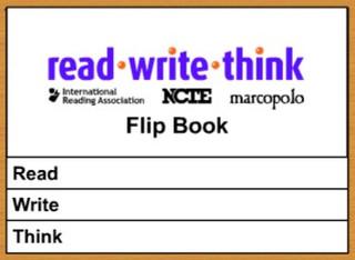 read -write-think Flip Book
