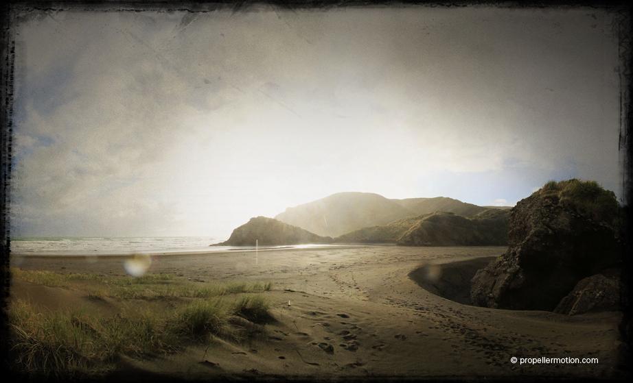 Anawhata Beach - Photography