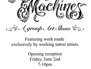 More Than Machines: A Group Art Show
