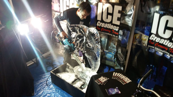 Live Ice Carving Manchester
