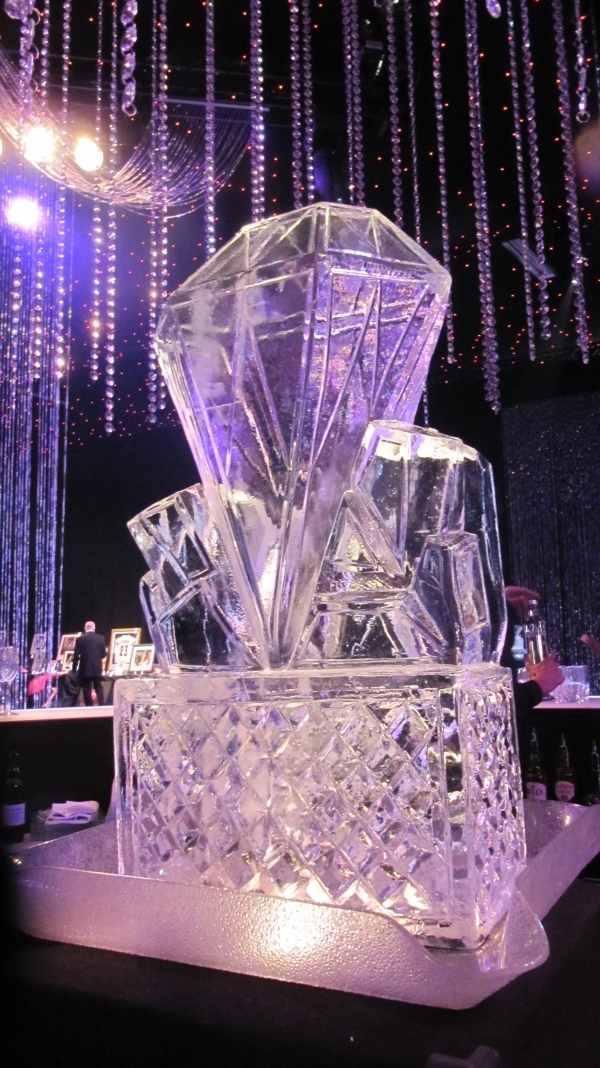 Diamond Vodka Ice Luge