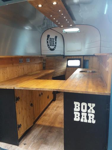 Horsebox bar hire Shropshire