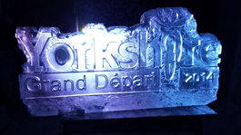 Yorkshire Players Corporate Ice Sculpture