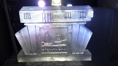 Caravan Vodka Ice Luge