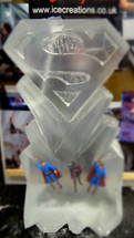 Superman Logo Vodka Luge