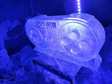 Nintendo Controller Ice Sculpture