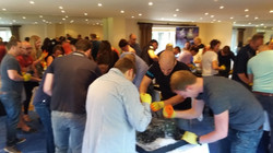 Ice Team Build event Gatwick