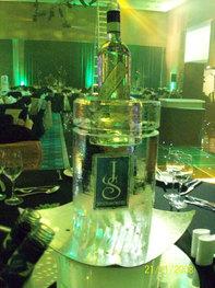 Table Centre Ice Bottle Holder