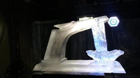 Tap Ice Sculpture