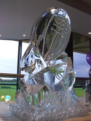Rugby Ball Vodka Luge