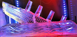 Titanic Vodka Ice Luge