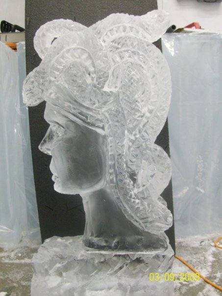 Medusa Vodka Ice Luge