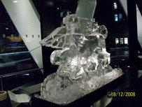 Griffin Logo Logo Ice Sculpture