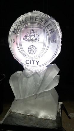 Football Logo Vodka Ice Luge