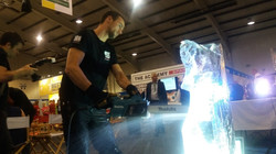 Live Ice Carving Exeter