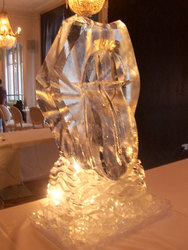 Lips and Tongue Vodka Luge