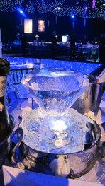 Diamond Ice Table Centrepiece