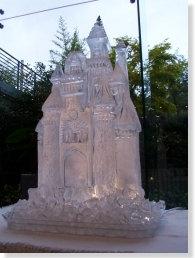 FairyTale Castle Ice Sculpture Luge