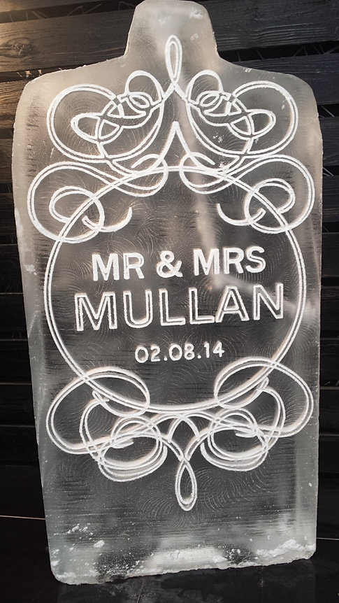 Wedding Plaque Sculpture