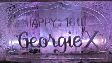 Birthay Ice Bar With Engraving