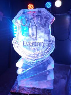 Football Badge Vodka Ice Luge