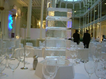 Abstract Ice Table Centre