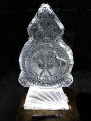 Cap Badge Vodka Ice Luge