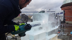 Live Ice Carving London
