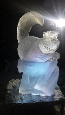 Cheshire Cat Vodka Ice Luge