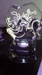 Disney Themed Ice Table Centre