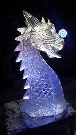 Dragon Head Vodka Luge
