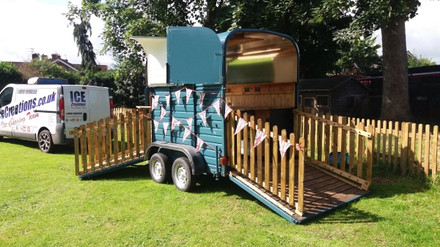 Horsebox bar Hire Shropshire
