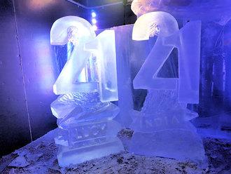 Numbers 21 Vodka Luge