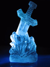 Sword in The Stone Vodka Luge