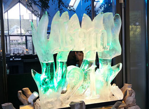 Tree and Name Vodka Luge