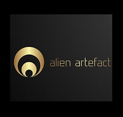 Alien Artefact Logo, makers of tree root coffee tables.