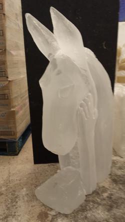 Donkey Midsummer Vodka Ice Luge