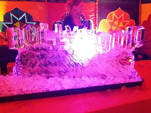 BollyWood Ice SculptureVodka Luge