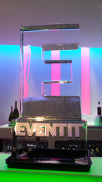 Eventit Edinburgh Logo Ice Sculpture