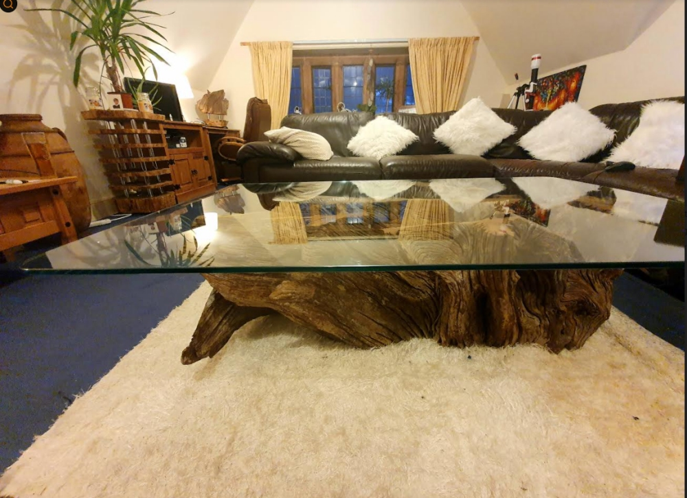 Large Tree Root Coffee Table