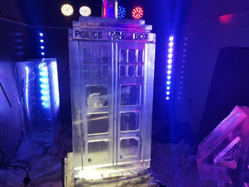 Dr Who Tardis Vodka Luge